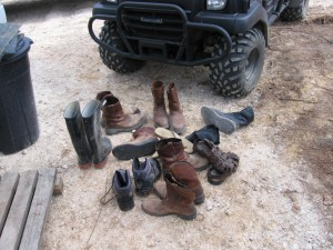 Can a man have too many boots?