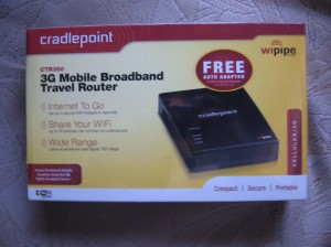 Cradlepoint CTR350  Broadband Router
