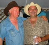 Scott and Billy Joe Shaver back in the day. Lord, that man loves his Texas Music!