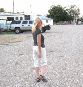 My fave picture of Miss K.  Captures the essence of an interesting and capable woman. -Terlingua 2010