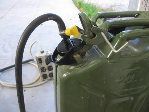 NATO Jerry Can Auxiliary Fuel Supply